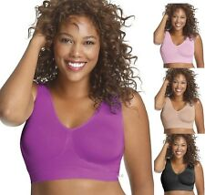 Just My Size Pure Comfort Seamless Wirefree Bra - Style 1263  All Colors