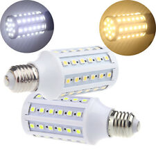 E27 12W 60Leds 5050 SMD 360° Lighting LED Corn Bulb Lamp Cool/Warm White Lights