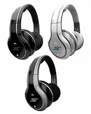 New SMS Audio SYNC by 50 Cent Wireless Over-Ear Headphones w/ Mic - MULTI COLOR