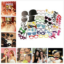 DIY Funny Photo Photobooth Props Masks Wedding Birthday Christmas Party Gift