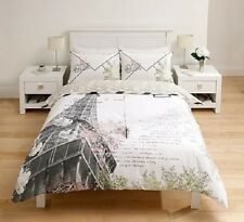 Paris,Eiffel Tower,Post card Duvet Set- Single,Double,King Size