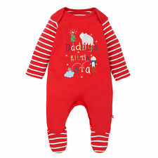 Mothercare Baby Newborn Boy's Mummy's Little Star Christmas All in One