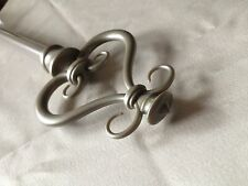 Serena - Antique Silver Curtain Rod Set!!  Multiple Sizes!!  FREE SHIPPING!