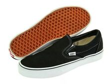 New Vans Classic Black & White Slip On Mens Shoes Sneakers Size 4-12 VN-OEYEBLK