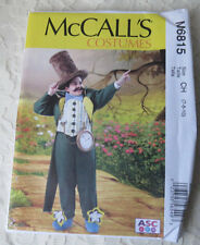 McCALL'S M6815 Boys/Girls Wizard of OZ Mayor or Steampunk Costume Sewing Pattern