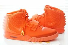 NIKE AIR YEEZY 2 SP RED OCTOBER KANYE WEST W/ RECEIPT 508214-660 PLATINUM SOLAR
