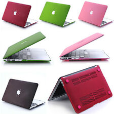 "Universal Durable Rubber PC Protect Case Cover For Macbook 13"" 15"" Laptop Shell"