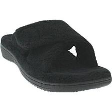 Ladies Orthaheel Relax BLACK Slipper - PREOWNED!  MUST SEE! (8CC3)