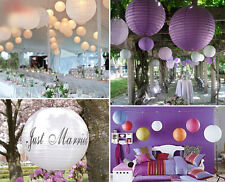 """1pcs 8"""" Round Candy Color Chinese Hanging Paper Lanterns Wedding Birthday Party"""