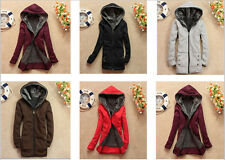 """Womens New Trendy Thicken Hoodie Casual Coat Outerwear Autumn Winter Jacket"