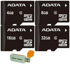 4GB 8GB 16GB 32GB Adata micro SD SDHC SDXC Memory Card Class 4 Phone Tablet