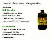 Jamaican Black Castor Oil 100% Natural Made in USA (Tropic Isle Living) BIG-SALE