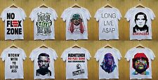 Hip Hop Rap Rapper Gangsta Hipster Funny Swag Fashion Mens Short Sleeve T Shirt