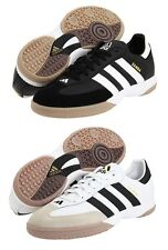 Men's Adidas Samba Millennium Black or White Sport Indoor Soccer Shoes Sz 6-13.5