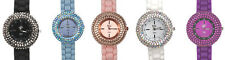 Kirks Folly Fairy Halo Sparkle Watch:Choice Of Black, Blush, White, Blue, Purple