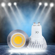 New Super Bright 6W 9W 12W GU10 E27 MR16 Led COB Spotlight Lamp Bulbs Dimmable