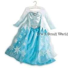 Disney Store Elsa Cameo Costume Dress Frozen Authentic Size 5 6 7 8 9 10 NWT