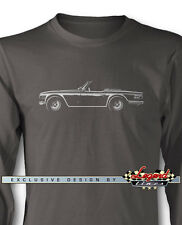 Triumph TR6 Convertible Long Sleeves T-Shirt - Multiple Colors and Sizes