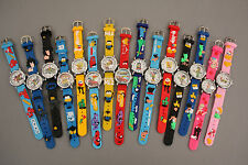 Hello Kitty/Batmam/ Spiderman/Barbie & Many More Silicon 3D Kids Wrist Watches