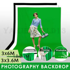 LARGE Photography Studio Video Muslin Backdrop Photo Background Back Drop 3x3.6M