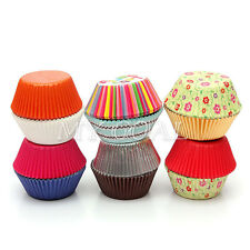 25X Paper Cake Cup Liners Baking Cupcake Cases Muffin Cake Wedding Party