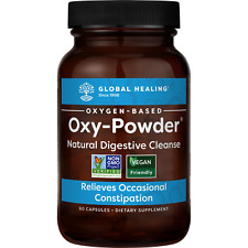 Oxy-Powder Colon Cleanser & Natural Laxative Overnight Constipation Relief Pills
