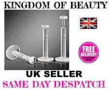 LABRET RETAINER, HIDE NOSE, LIP, TRAGUS PIERCING Available In Packs 1/3/5/10 Pcs