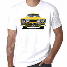 Ford Escort Mk1 Mexico Rs2000 1970  RS printed T shirt 100% Cotton