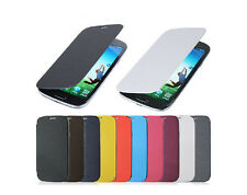 Slim Flip Leather Hard Case Cover Skin For Various Samsung Galaxy Smart Phone
