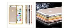 Luxury Crystal Rhinestone Diamond Bling Metal Cover Bumper For iPhone 6 4.7