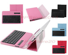 "Protective Leather Case W/Detachable Bluetooth Keyboard For 7""-8"" Various Tablet"