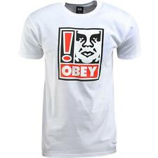 Obey Exclamation Tee (white)