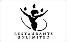 Restaurants Unlimited Gift Card - Email Delivery