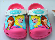 New CROCS Children Water Shoes Clogs Size 6-7 8-9 10-11 12-13 Frozen Elsa Anna