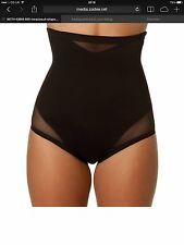 Miraclesuit Sexy Firm Control High waist Brief Black and Flesh S-2XL