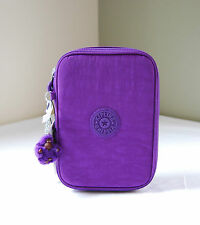 Kipling Tile Purple AC3657 100 Pens Case