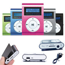 "2-32GB Slim MP3 MP4 Player 1.8"" LCD Screen Support Micro SD TF Recorder FM Games"