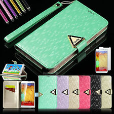 New Luxury Leather Flip Wallet Case Cover For Samsung Galaxy Note 3 III N9000