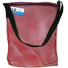 Mesh Drawstring Tote Bag with Shoulder Strap, Small, 15inch x 20inch