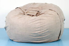 BAGSY NEW BEAN BAG COVER MICROSUEDE PLUSHSUEDE LUXURY ZIP TOP QUALITY LIKE BUDDA