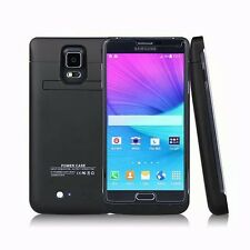 Samsung Galaxy Note 4 4800mAh & 4200mAh External Battery Power Bank Charger Case
