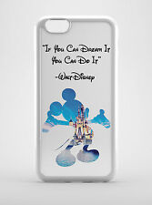 """Disney Quote """"If you can dream it, You can do it"""" iPhone 4-5-5s-5c, Samsung"""