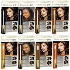 Cover Your Gray Hair INSTANT COLOUR Brush In Mascara All Types - for Men & Women