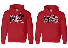 Mr. & Mrs. - Couple Hoodies - Couple Sweatshirt