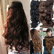 Vogue Beauty Full Head Clip Curly Wavy Women Synthetic Hair Extension Extensions
