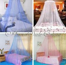 Elegant Bed Mosquito Netting Mesh Canopy Princess Round Dome Bedding Net 3 Color