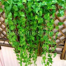 12X 7.5ft Artificial Ivy Vine Foliage Flower Leaf Garland Plant Home Decor
