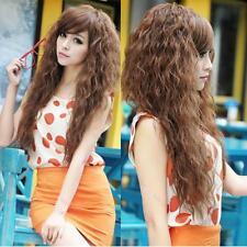 Womens Fashion Sexy #G long Full Curly Wavy Hair Wigs Cosplay Party 3 Colors Hot