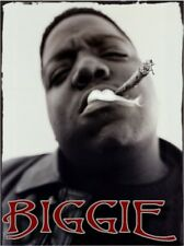 BIGGIE SMALL notorious big p diddy up close hip hop legend photo glossy t-shirt