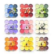 9 PCS Scented Tea Light Candle Wedding Party Fragranced Tealight Candles